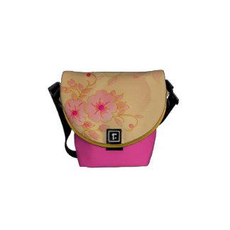 Hibiscus Flowers  Mini Zero Messenger Bag