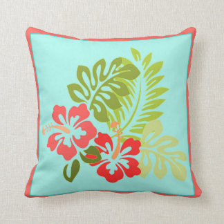 Hibiscus Flowers No. 1 Pillow