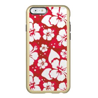 Hibiscus Flowers Pattern Incipio Feather® Shine iPhone 6 Case