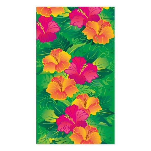 hibiscus garden business cards
