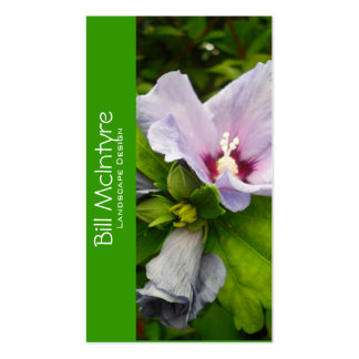 Hibiscus garden landscape Double-Sided standard business cards (Pack of 100)
