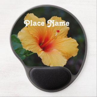 Hibiscus Gel Mouse Pad