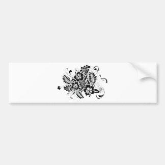 Hibiscus_Growth Bumper Sticker