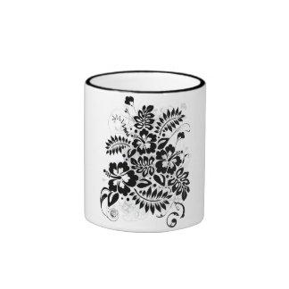 Hibiscus_Growth Coffee Mugs