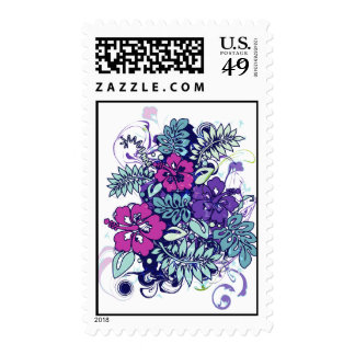 Hibiscus_Growth Postage Stamp