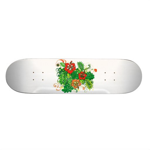 Hibiscus_Growth Skate Boards