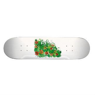 Hibiscus_Growth Skateboard