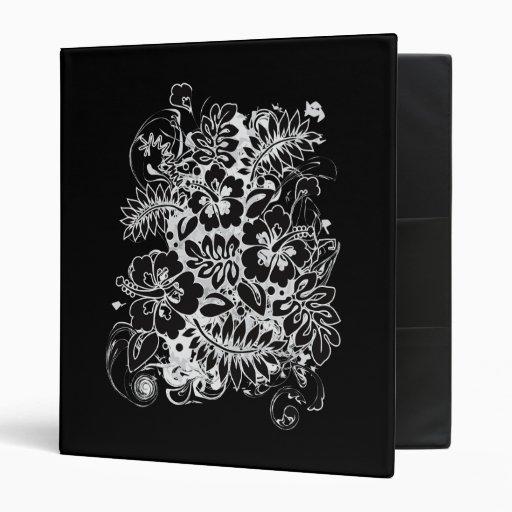 Hibiscus_Growth Vinyl Binder
