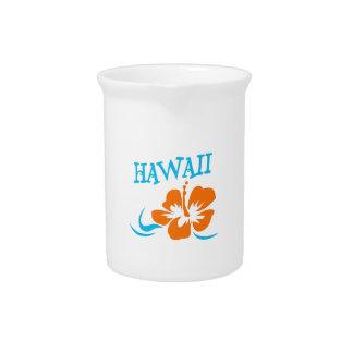 HIBISCUS HAWAII DRINK PITCHER