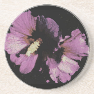 Hibiscus Hawaii Party Coaster