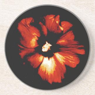 Hibiscus Hawaii Party Coaster