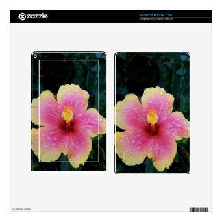 Hibiscus Hawaiian Flower Kindle Fire Skin