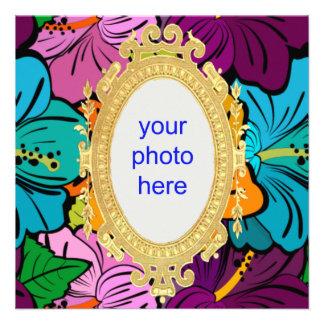 Hibiscus Hula Personalized Invite