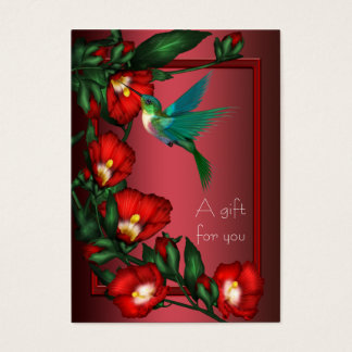Hibiscus Hummingbird Gift Certificate Gift Cards