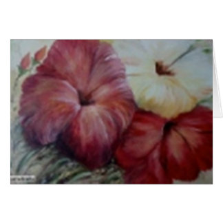 hibiscus II Card