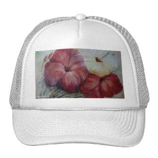 hibiscus II Trucker Hats