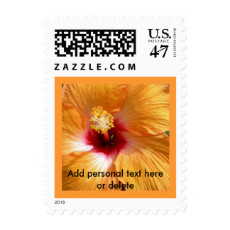 Hibiscus in Hawaii Postage Stamp