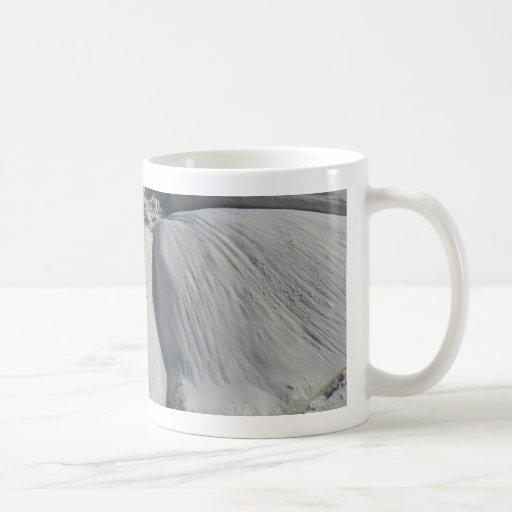 Hibiscus In sand Classic White Coffee Mug