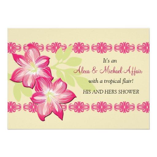 Hibiscus Invitation
