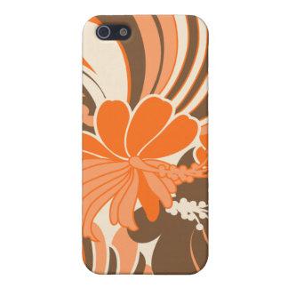 Hibiscus Jungle Hawaiian iPhone 4 Cases