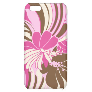Hibiscus Jungle Hawaiian iPhone 5C Cases