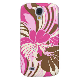 Hibiscus Jungle Hawaiian Samsung Galaxy S4 Cover