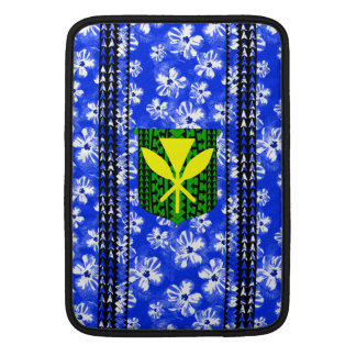 Hibiscus Kanaka Maoli Tribal Sleeve For MacBook Air