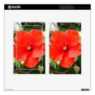 Hibiscus Kindle Fire Skin