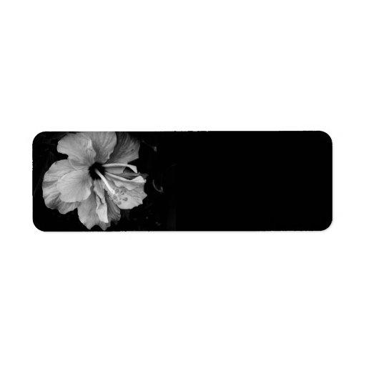 Hibiscus Label