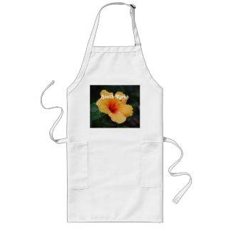Hibiscus Long Apron