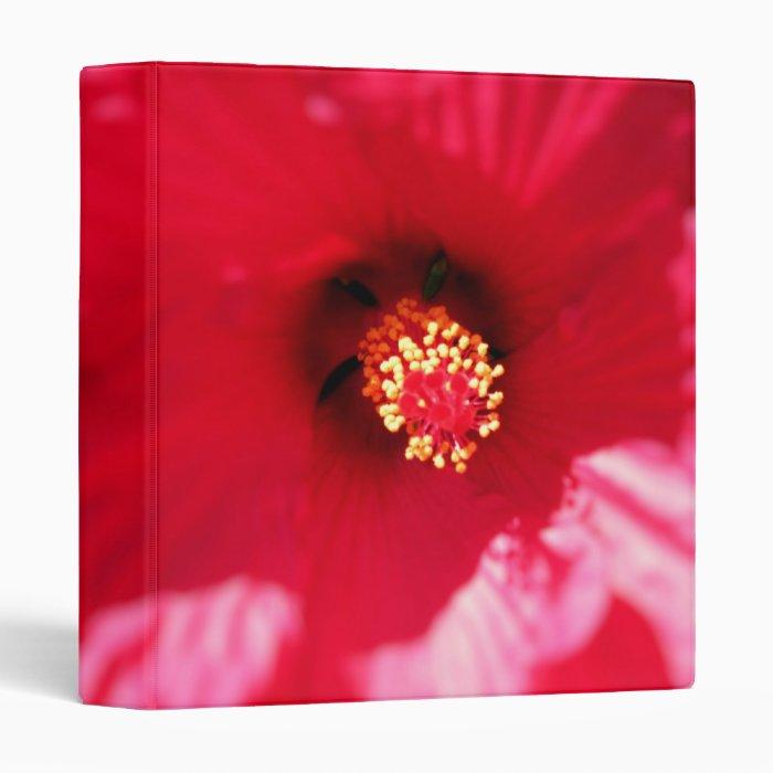 Hibiscus Macro Binder