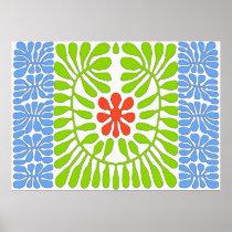 Hibiscus, Matisse Homage Leaf 2 posters