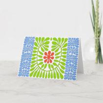 Hibiscus, Matisse Homage Leaf cards