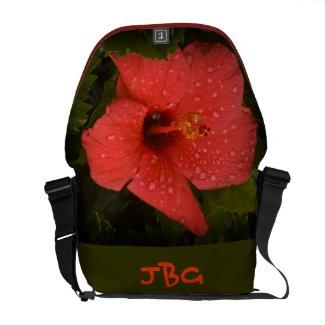 Hibiscus Messenger Bag rickshawmessengerbag