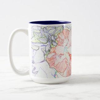 Hibiscus Mug - Stylized