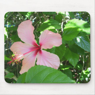 Hibiscus Pad Mouse Pad