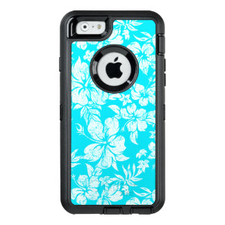 Hibiscus Pareau Distressed Hawaiian OtterBox Defender iPhone Case