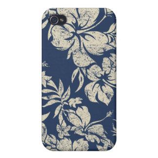 Hibiscus Pareau Hawaiian Case For iPhone 4