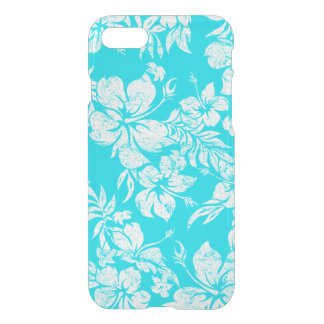 Hibiscus Pareau Hawaiian Floral Aloha Shirt iPhone 7 Case