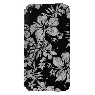 Hibiscus Pareau Hawaiian Floral Aloha Shirt Print iPhone 6/6s Wallet Case