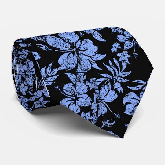Hibiscus Pareau Hawaiian Floral Tie