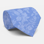 Hibiscus Pareau Hawaiian Floral Two-sidedPrinted Tie