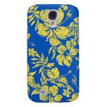 Hibiscus Pareau Hawaiian Galaxy S4 Cases