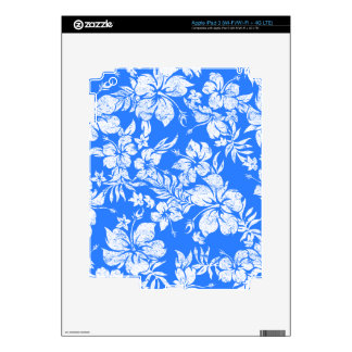 Hibiscus Pareau Hawaiian iPad 3 or Tablet Skin iPad 3 Decals