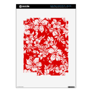 Hibiscus Pareau Hawaiian iPad 3 or Tablet Skin iPad 3 Skin