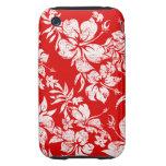 Hibiscus Pareau Hawaiian iPhone 3 G/S Casemate iPhone 3 Tough Case