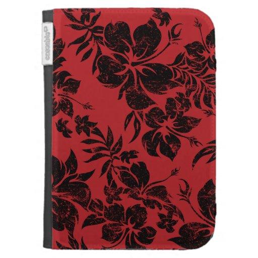Hibiscus Pareau Hawaiian Kindle Folio Kindle Folio Cases
