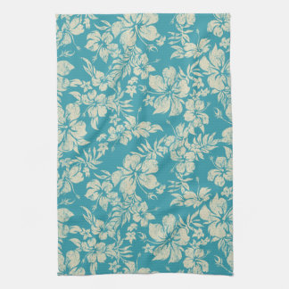 Hibiscus Pareau Hawaiian Kitchen Towel