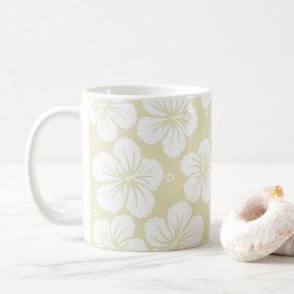 Hibiscus Pattern Coffee Mug