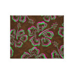 Hibiscus Pattern Gallery Wrapped Canvas